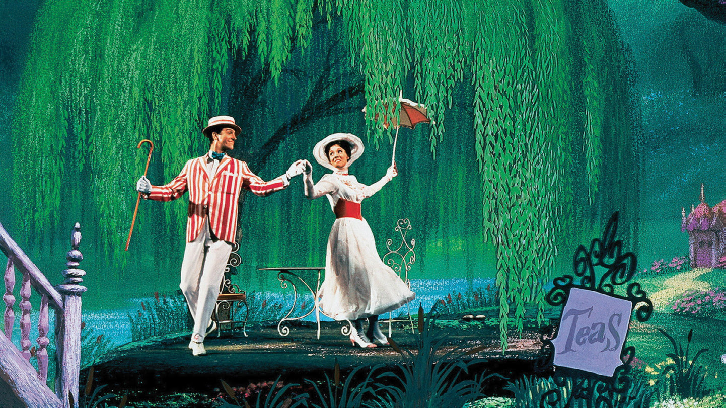 Marry Poppins dancing